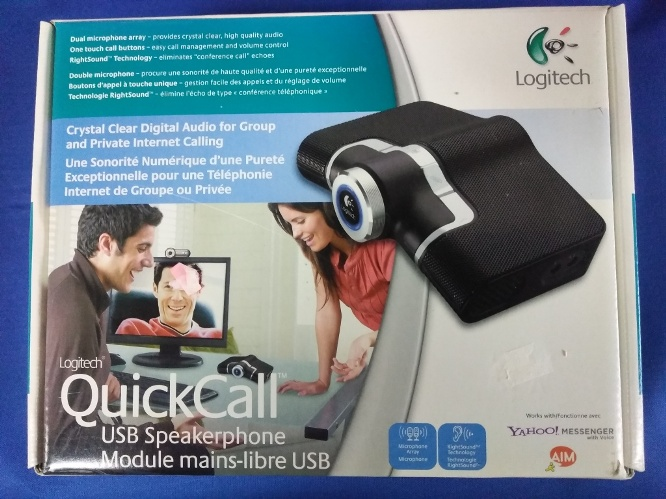 Logitech QuickCall USB Speakerphone